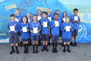 Class Merit award winners